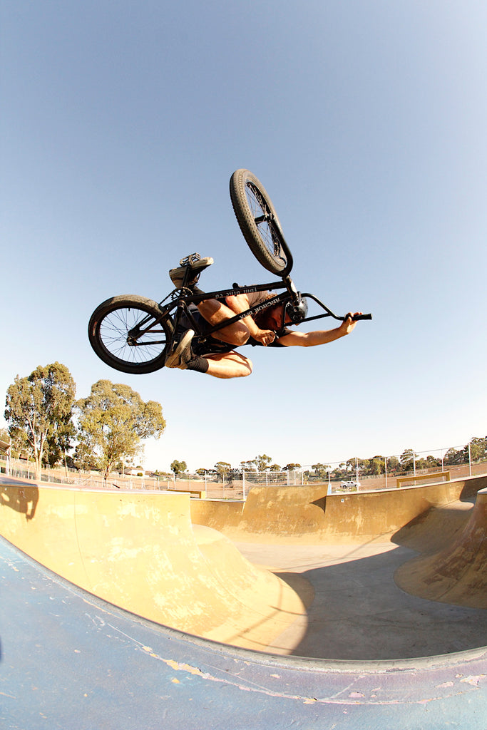 Colin Nevin - Hopperscrossing Skatepark - Anchor Bmx