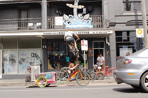 anchor bmx - cargo bike ramp stuntage