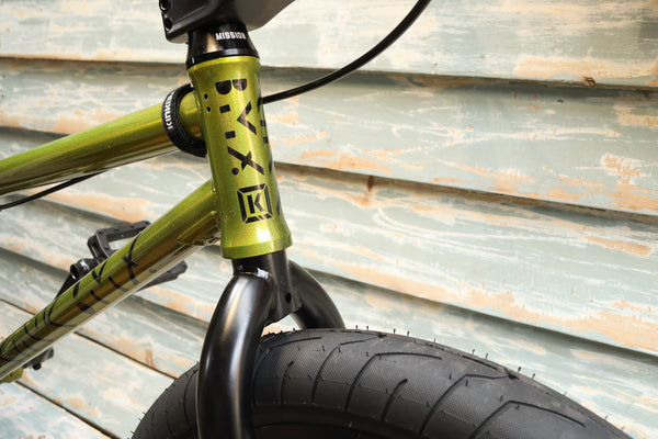 Kink -Kink Bikes Launch 2021 Gloss Digital Lime -Complete Bikes -Anchor BMX