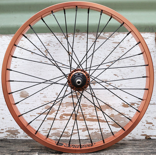 THE SHADOW CONSPIRACY -TSC Corvus BTR SDS Rear Wheel -WHEELS + SPOKES + BUILDS -Anchor BMX