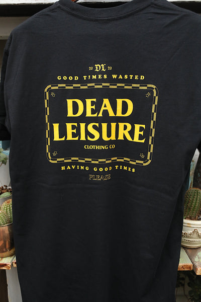 DEAD LEISURE -Dead Leisure Good Times Tee -CLOTHING -Anchor BMX