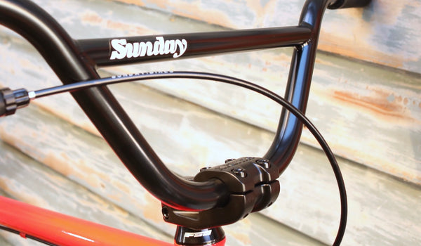 SUNDAY -Sunday High C 29 Inch 2021 Sunrise Fade -Complete Bikes -Anchor BMX