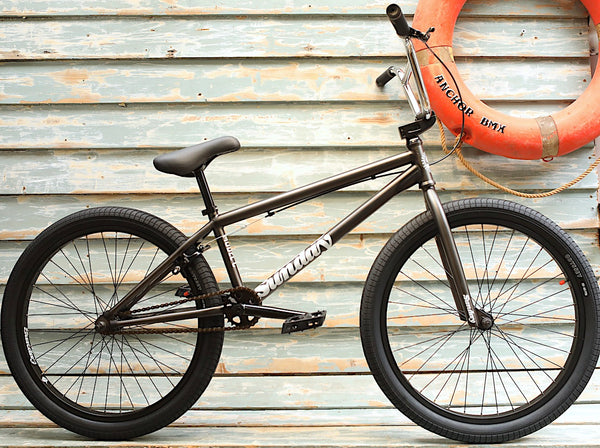 SUNDAY -Sunday Model C 24 Inch 2021 Matte Trans Grey -Complete Bikes -Anchor BMX