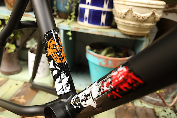 CULT -Cult Hawk Frame Burn Slow -FRAMES -Anchor BMX