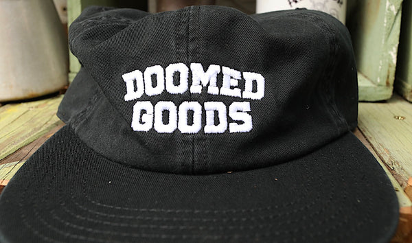DOOMED -Doomed Goods 6 Pannel Hat -HATS + BEANIES + SHADES -Anchor BMX