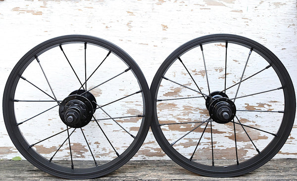 Fit Bike Co. -Fit Bike Co 14 Inch OEM Wheel Set -WHEELS + SPOKES + BUILDS -Anchor BMX