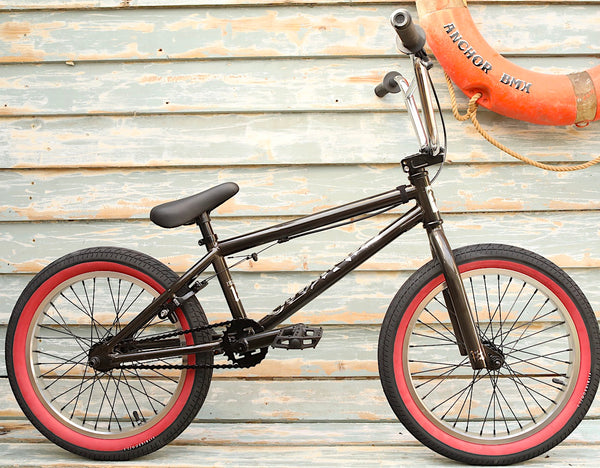 Fit Bike Co. -Fit Bike Co Misfit 18 Inch 2021 Trans Black -Complete Bikes -Anchor BMX