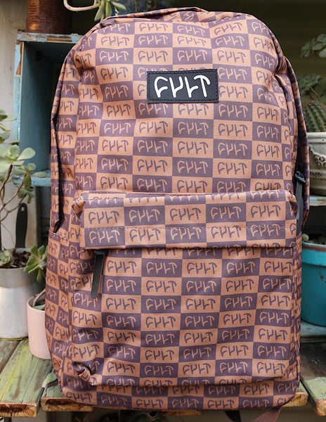 Cult Designer Backpack Brown