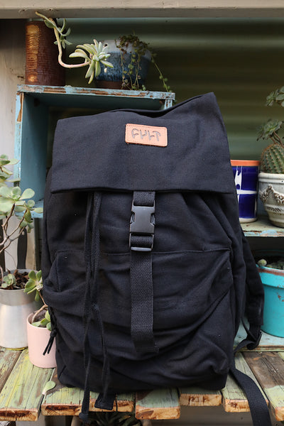 CULT -Cult Stash Backpack Black -BAGS -Anchor BMX