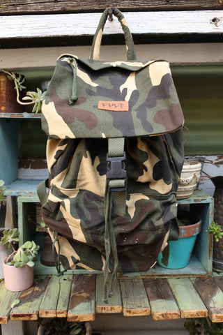 CULT -Cult Stash Backpack Camo -BAGS -Anchor BMX