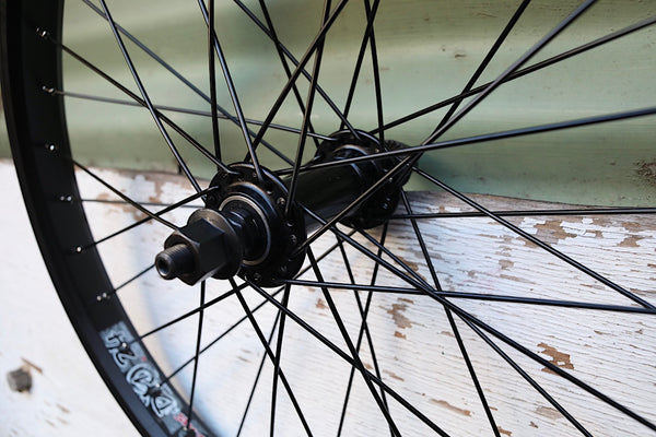 DRS BMX PARTS -DRS Front Wheel -WHEELS + SPOKES + BUILDS -Anchor BMX