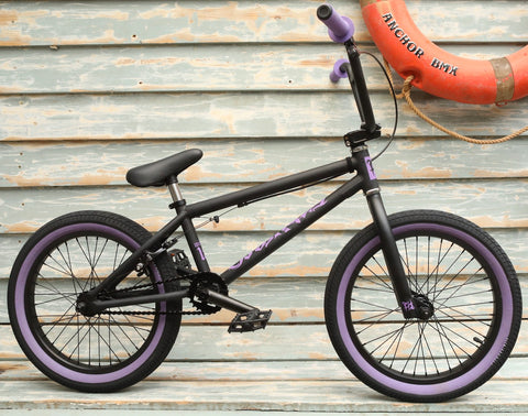 Fit Bike Co. -Fit Bike Co Misfit 18 Inch 2021 Matte Black -Complete Bikes -Anchor BMX