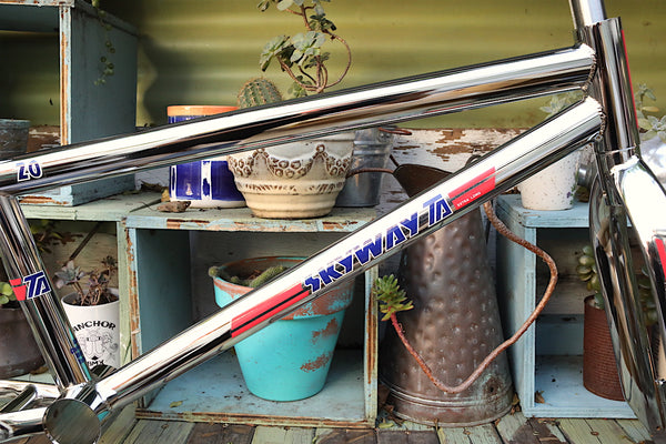 Skyway TA Replica Frame Fork Bar Kit