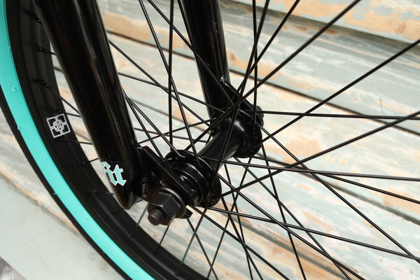Fit Bike Co. -Fit Bike Co Prk 2021 Black Teal Flake -Complete Bikes -Anchor BMX