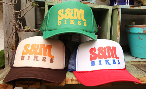 S & M bikes -S&M Keep On Truckin Hat -HATS + BEANIES + SHADES -Anchor BMX