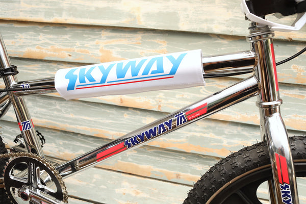 SKYWAY -Skyway TA Replica Chrome Black Wheels -Complete Bikes -Anchor BMX