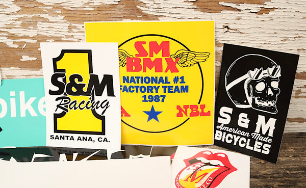 S&M Random 20pc Sticker Pack