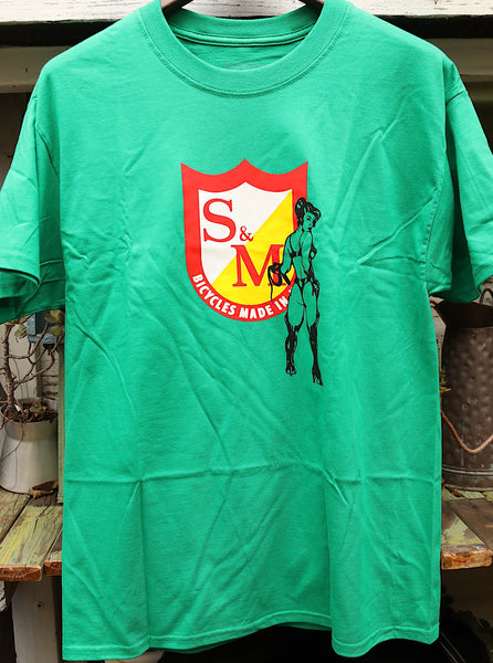 S & M bikes -S&M Whip It Tee -CLOTHING -Anchor BMX
