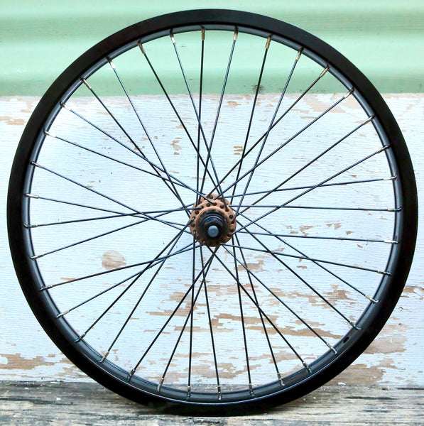THE SHADOW CONSPIRACY -TSC + Cinema Custom Front Wheel -WHEELS + SPOKES + BUILDS -Anchor BMX