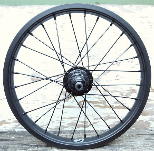 SALT -Salt Rookie 16 Inch Cassette Rear Wheel -WHEELS + SPOKES + BUILDS -Anchor BMX