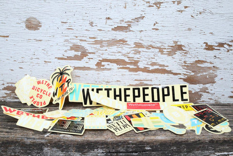 WETHEPEOPLE -WTP Sticker Kit -Magazines + stickers+patches -Anchor BMX