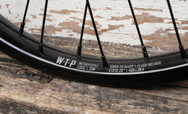 WETHEPEOPLE -WeThePeople Helix Front Wheel -WHEELS + SPOKES + BUILDS -Anchor BMX