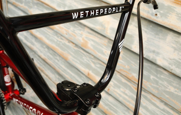 WETHEPEOPLE -WeThePeople Arcade 2021 Candy Red -Complete Bikes -Anchor BMX