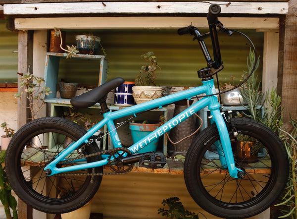 WETHEPEOPLE -WeThePeople Seed 16 inch 2021 Surf Blue -Complete Bikes -Anchor BMX
