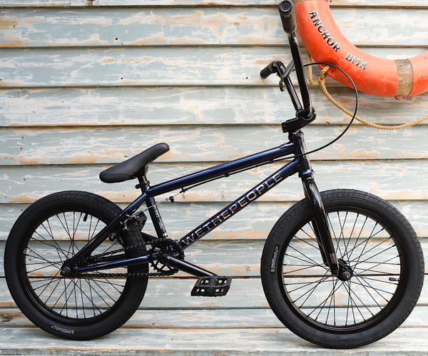 WETHEPEOPLE -WeThePeople CRS 18 Inch 2021 Galactic Purple -Complete Bikes -Anchor BMX
