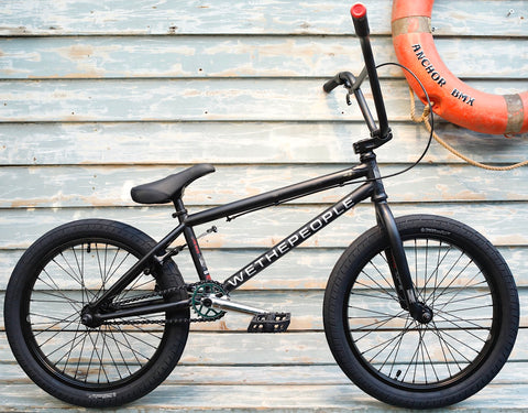 WETHEPEOPLE -WeThePeople CRS Freecoaster 2021 Matte Black -Complete Bikes -Anchor BMX