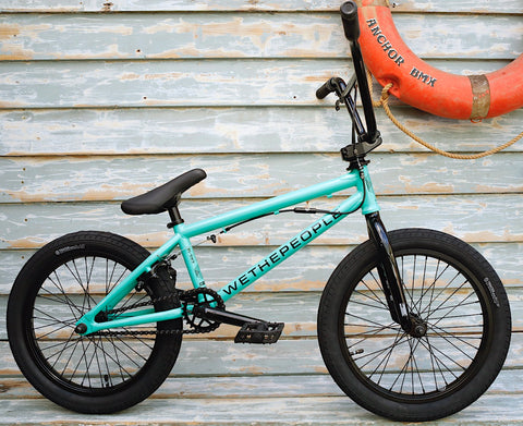 WETHEPEOPLE -WeThePeople CRS FS 18 Inch 2021 Soda Green -Complete Bikes -Anchor BMX