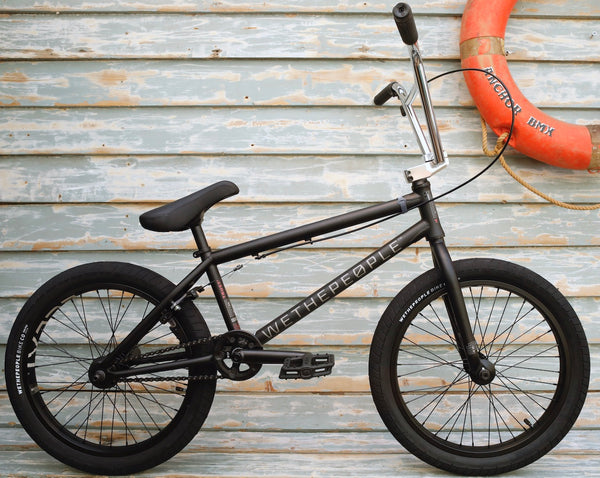 WETHEPEOPLE -WeThePeople Trust Freecoaster 2021 Matte Black -Complete Bikes -Anchor BMX