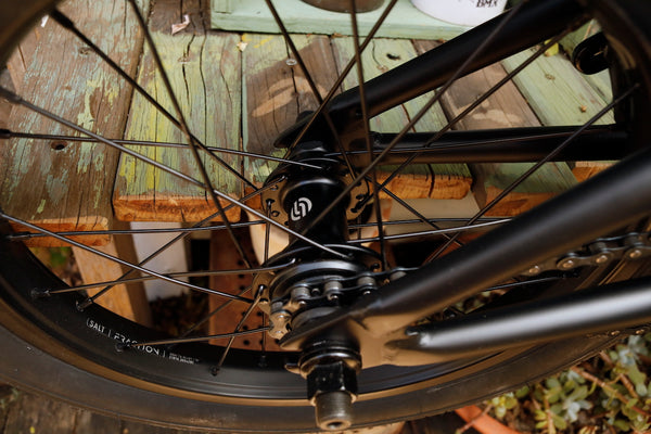WETHEPEOPLE -WeThePeople Seed 16 inch 2021 Matte Black -Complete Bikes -Anchor BMX