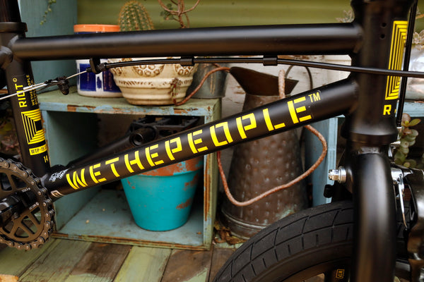 WETHEPEOPLE -WeThePeople Riot 14 inch 2021 Matte Black -Complete Bikes -Anchor BMX