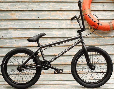 WETHEPEOPLE -WeThePeople Justice 2021 Ghost Grey -Complete Bikes -Anchor BMX