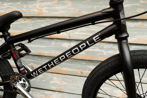 WETHEPEOPLE -WeThePeople CRS 18 Inch 2021 Matte Black -Complete Bikes -Anchor BMX