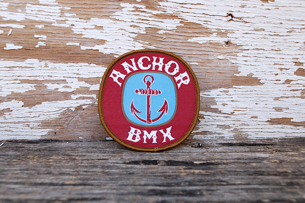 Anchor BMX -The Anchor Beer Patch -Magazines + stickers+patches -Anchor BMX