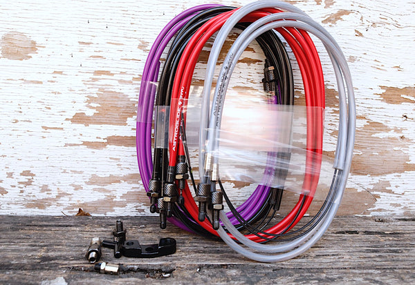 SNAFU -SNAFU Astroglide Lower Gyro Cable -BRAKES + PARTS -Anchor BMX