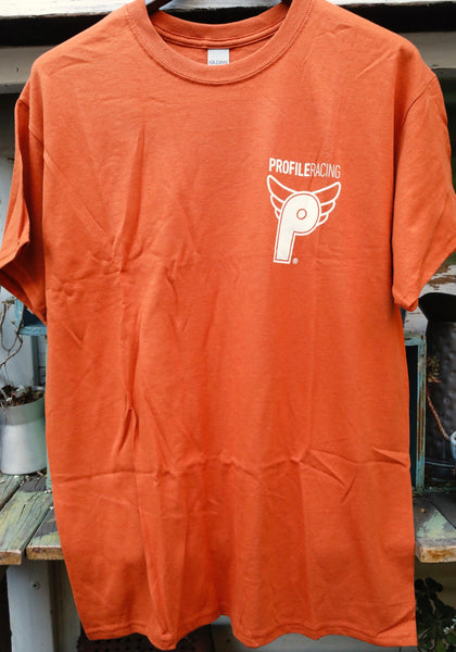 Profile Racing Logo Tee Orange