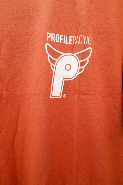 Profile -Profile Racing Logo Tee Orange -CLOTHING -Anchor BMX