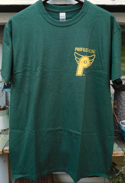 Profile Racing Logo Tee Green