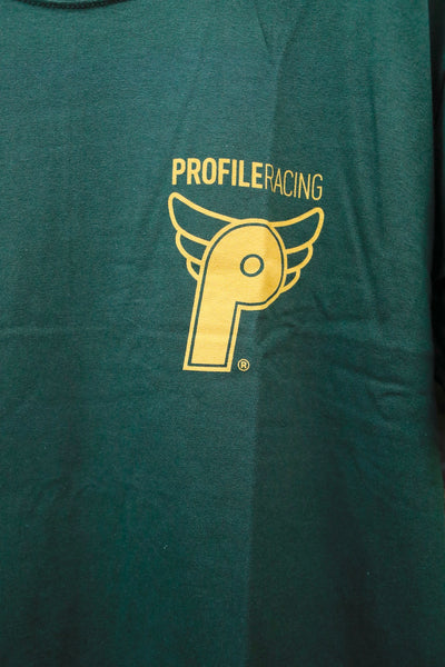 Profile -Profile Racing Logo Tee Green -CLOTHING -Anchor BMX