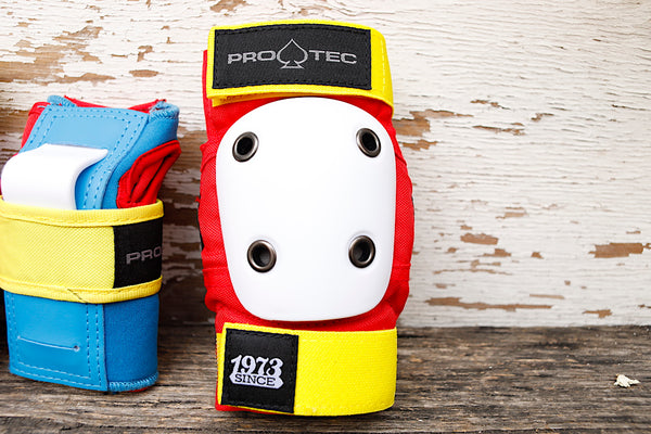 PROTEC HELMETS -Protec Street Gear Jr Youth Pad Set Retro -HELMETS + PADS + GLOVES -Anchor BMX