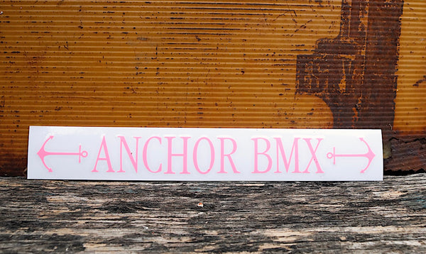 Anchor BMX -Anchor Bmx Safety Line Decals -Magazines + stickers+patches -Anchor BMX