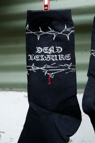 DEAD LEISURE -Dead Leisure Thorns Socks -Socks -Anchor BMX