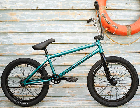 WETHEPEOPLE -WeThePeople Crysis 2021 Tran Teal -Complete Bikes -Anchor BMX