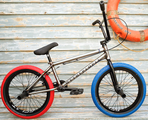 WETHEPEOPLE -WeThePeople Battleship 2021 Raw -Complete Bikes -Anchor BMX