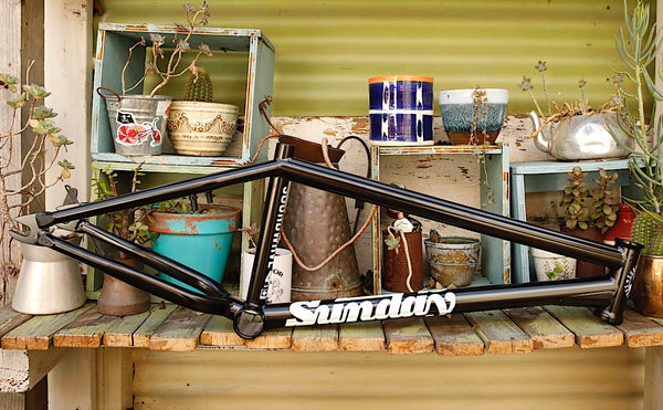 SUNDAY -Sunday Soundwave V3 Frame Black -FRAMES -Anchor BMX