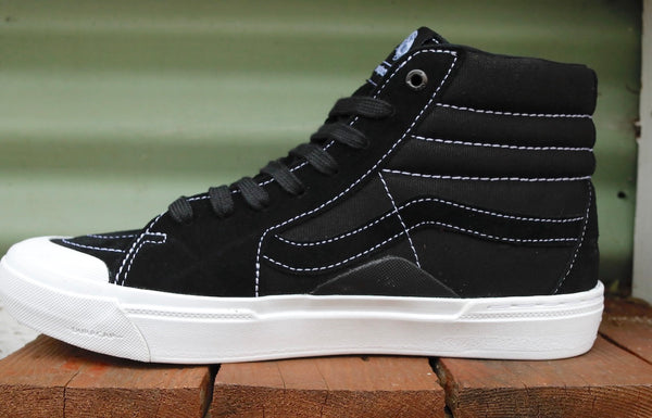 VANS -Vans Sk8-Hi Pro Bmx Demolition Black/White -Shoes -Anchor BMX