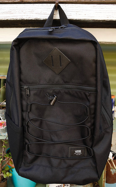 Vans -Vans Snag Backpack Black -BAGS -Anchor BMX